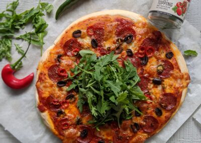 Deep Pan Diavola Pizza