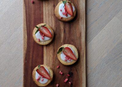 Jordbær Snitter