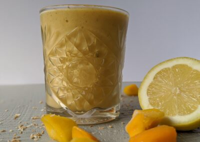 Mango Smoothie med Citron