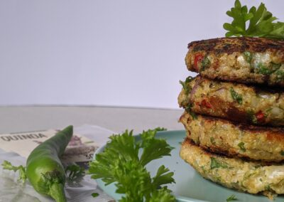 Quinoa Blomkåls Patties