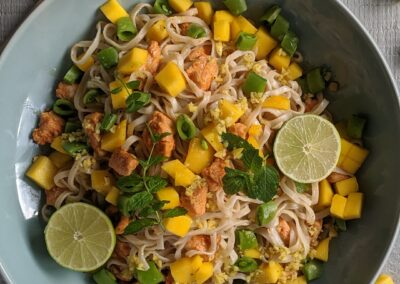 Spicy Kylling Salat Med Mango