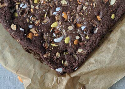 Påske Brownie