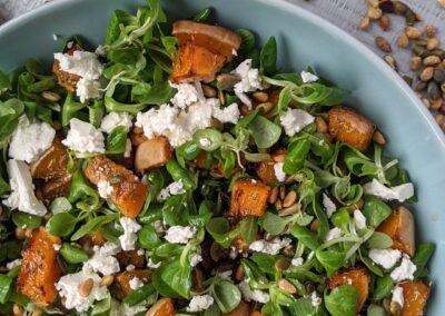 Bagt Græskar Salat