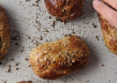 Mini Hampe Hotdog Brød