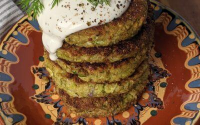 Broccoli Edamame Patties