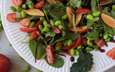 Jordbær Nektarin Salat